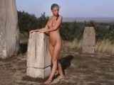 Thumb for Marketa Belonoha outdoor posing at Sculptur