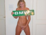 Amateur girl that loves BMW