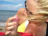 Beach Blowjob Amateur Set